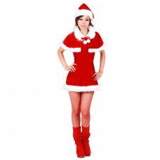 Christmas Costume Mrs Santa Claus dress X-S022